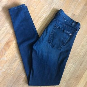 7 for All Mankind 'The Skinny' Jeans Size 26